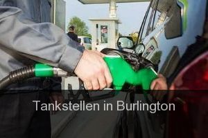 Tankstellen in Burlington