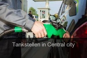 Tankstellen in Central city